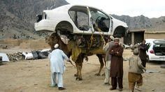 Afghanistan Today - Camel up the Khyber