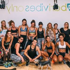 fitness fam on fleek #HBFIT || sweatin' it out pre-fashion week madness
