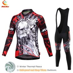 Cycling Jersey 2017 Pro Team Winter Cycling Sets Bike Clothes Thermal  Fleece Roupa De Ciclismo Invierno e78b402b9