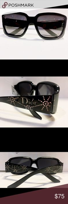 Authentic Dior Sunglasses Gently used with a case. I have misplaced the original case but I will kindly include one that fits the frame. Please let me know if you have any question and feel free to make an offer. Christian Dior Accessories Sunglasses