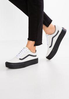 6f3949b8e84 Vans OLD SKOOL PLATFORM - Sneaker low - blanc de blanc/black für 89,