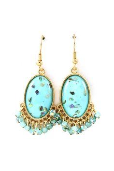 turquoise earrings