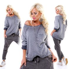 Blue Mohair Long Sleeve Lining Pocket Jumper European Fashion, Unique Fashion, Timeless Fashion, Womens Fashion, Cable Knit Sweaters, Knitwear, Jumper, Ruffle Blouse, Clothes For Women