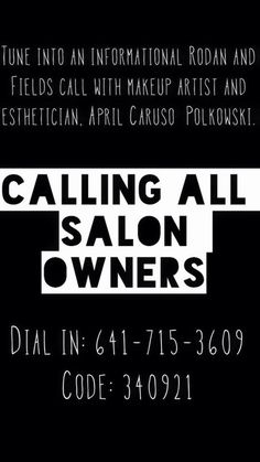 Incredible opportunity for salon owners!! Use residual income from this biz to bring in hundreds or thousands more a month! Click this photo to get to my website. Listen to the call and message me.
