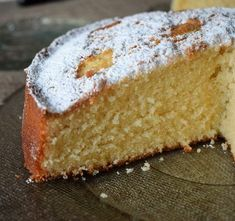 Delicious Cake Recipes, Pound Cake Recipes, Yummy Cakes, Sweet Recipes, Yummy Food, Pan Dulce, Biscuits, Plum Cake, Sweet Pastries