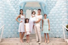 Filha caçula de Rodrigo Faro e Vera Viel ganha festão de aniversário
