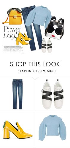 """""""bags"""" by edith-or on Polyvore featuring Yves Saint Laurent, Valentino, Coliàc Martina Grasselli and TIBI"""