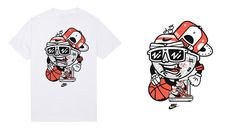 Big Set of Different T-shirt Illustrations Pt.2 on Behance