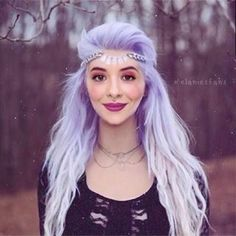 We've gathered our favorite ideas for Pastel Goth Purple Hair Ombre Hair Hairspray, Explore our list of popular images of Pastel Goth Purple Hair Ombre Hair Hairspray in lavender pastel hair colors. Dye My Hair, New Hair, Lavender Hair Dye, Lavender Colour, Coloured Hair, Mermaid Hair, Gorgeous Hair, Beautiful, Pretty Hairstyles