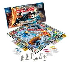 Fantastic Four Collector's Edition Monopoly