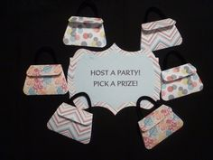 Thirty One Consultant Party Purses Party Punch Set by AandCDesign, $20.00