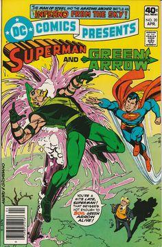 DC Comics Presents Vol. 3 No. 20  1980  Superman and Green Arrow by TheSamAntics