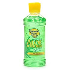 I'm learning all about Banana Boat Soothing Aloe After Sun Gel at @Influenster!
