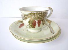 Vintage Demitasse Cup Saucer Porcelain