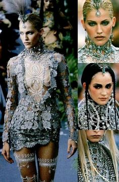 stopdropandvogue: Christian Dior – Couture Fall 1997