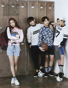V, Jungkook, Rap Monster | Ceci Magazine (May Issue)