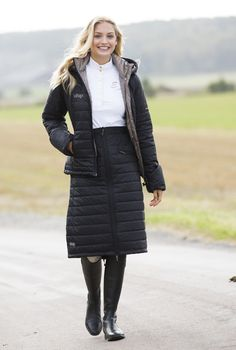 Warm, quilted jacket and skirt from Uhip. #Hööks