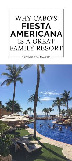 Looking for a family-friendly all-inclusive luxury resort in Los Cabos, Mexico? Then you have to check out the Grand Fiesta Americana Cabo San Lucas.