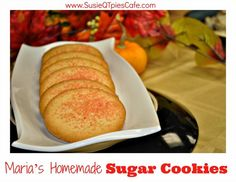 Christmas Sugar Cookies Homemade Recipes