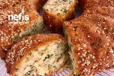 Çay Sohbetlerinin Vazgeçilmez Tarifi Tuzlu Kek Best Breakfast Recipes, Turkish Recipes, Homemade Beauty Products, Cake Cookies, Banana Bread, Tart, Food And Drink, Baking, Healthy