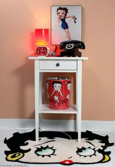 Betty Boop Bedroom Decor | Decorating with Betty Boop - Betty Boop Bedroom Accessory Setting ...