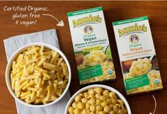 New from Annie's! Vegan Mac & Cheese! Excited to try it! #MyVeganJournal