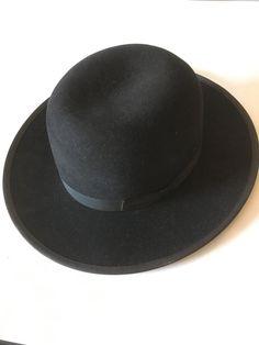 99e283d1434 Amish Mennonite Hat 100% Fur - Black