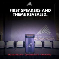 """- #IMSAsiaPacific Speakers and Theme Announced -  #Kaskade, #Sharam, and #DJTennis are just a few of the artists that will be taking the stage alongside industry leaders Richie McNeill of Beatport and artist manager of WHAM! Simon Napier-Bell and many more... IMS Asia-Pacific's theme is """"Bridging the Gap,"""" a continuation of IMS' mission to continue bringing East and West together.  Industry leaders and young visionaries welcomed to join IMS Asia-Pacific on December 11th in Singapore to…"""