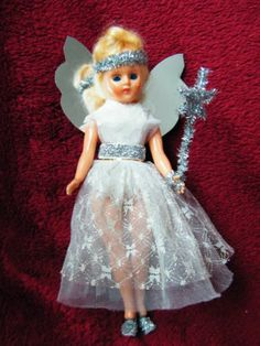 Vintage Christmas Fairy 'Linda' Doll -Tree Topper - Retro Kitsch Decoration | eBay