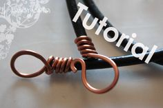 Download free tutorial on how to make a leather cord clasp