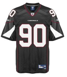 $25.00 NFL Jersey Arizona Cardinals Darnell Dockett #90 Black