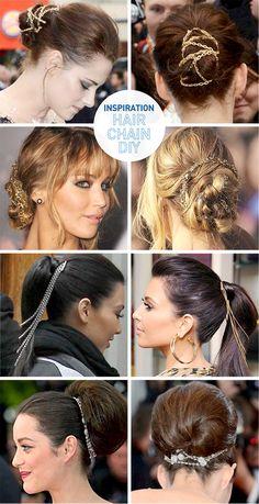 I Spy DIY: Hair Chain DIY