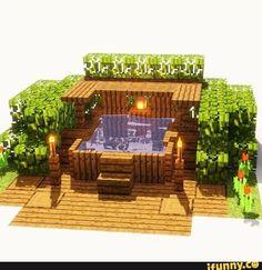 Minecraft Cabin, Minecraft House Plans, Minecraft House Tutorials, Cute Minecraft Houses, Minecraft Room, Minecraft House Designs, Minecraft Tutorial, Minecraft Blueprints, Minecraft Crafts