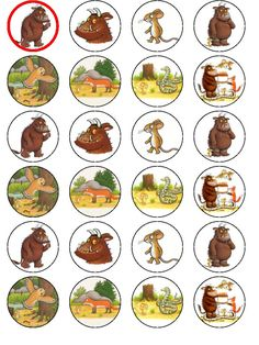 Bij het boek De GRUFFALO, een prachtig voorleesboek met mooie prenten. Lees ook het vervolg: Het kind van de Gruffalo (thema Winter)