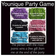 Younique Party Game Pigment