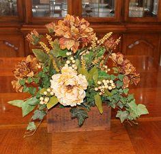Rustic Barnwood Floral Arrangement