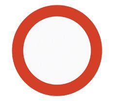 Trafikkskilt forklaring | Forbudsskilt | Gratis teoriprøve Symbols, Letters, Letter, Lettering, Glyphs, Calligraphy, Icons