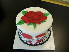 Divorce cake #tattoo #luvsux