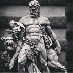 Ancient Statues Greek Gods - Female Statues Aesthetic - Poseidon Statues Aesthetic - - Statues Of Liberty Skull Hercules Tattoo, Hades Tattoo, Statue Tattoo, Greek God Tattoo, Greek Mythology Tattoos, Hercules Mythology, Rome Antique, Greek Statues, Renaissance