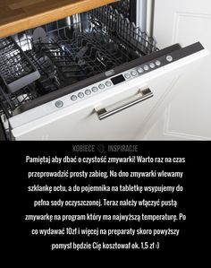 How to effectively refresh the dishwasher? How to effectively refresh the dishwasher? Diy Cleaning Products, Cleaning Hacks, Organization Of Life, Home Helpers, Home D, Simple Life Hacks, Diy Cleaners, Home Hacks, Kitchen Hacks