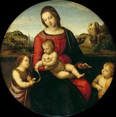 RAPHAEL - (RAFFAELLO SANZIO 1483 – 1520) |  Terranuova Madonna