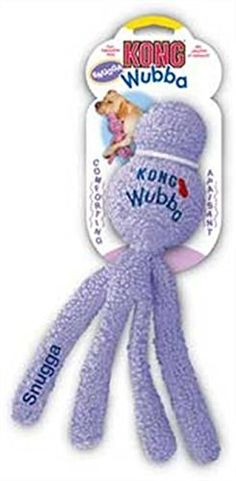 KONG Snugga Wubba Dog Toy, Colors Vary ** Don't get left behind, see this great dog product : Dog Toys