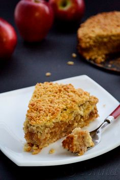 Μηλόπιτα / Apple crumble pie