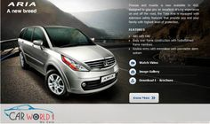 #carworld1 - Finesse and muscle is now available in 4X2. Designed to give you an excellent driving experience on and off the road, the Tata Aria is equipped with extensive safety features that provide you and your family with highest level of protection. features  ABS with EBD Body over frame construction with hydroformed frame members Keyless entry with immobilizer with peri-metric alarm system Visit - http://www.carworld1.com/