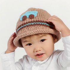 Cool Car Baby and Toddler Boy Knit Hat #Melondipity