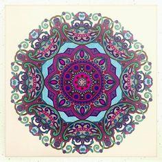 #colorful #mandala #adultcoloringbook