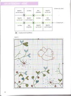 Gallery.ru / Фото #39 - 761 - Yra3raza Cross Stitch Bird, Cross Stitch Borders, Cross Stitch Animals, Baby Embroidery, Kids Patterns, Pattern Books, Needlepoint, Needlework, Bullet Journal