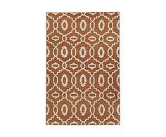 Trendige Boho-Teppiche: Handgewebter Teppich MOOR SAFFRON, 152 x 244 cm