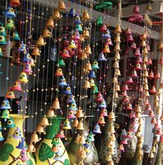 I LOVE THESE COLORFUL WINDCHIMES! by marcella