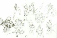 Sketch poses